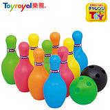 日本《樂雅 Toyroyal》保齡球玩具組