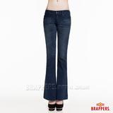 BRAPPERS 女款 新美腳Royal系列-女用小喇叭褲 -深藍