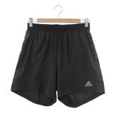 adidas (男)運動短褲-黑灰-AB2899