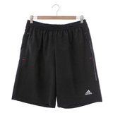 adidas (男)運動短褲-黑-AB3415