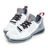 adidas (男)籃球鞋-白-S85475