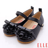 ELLE時尚童鞋-時尚淑女公主鞋款-P52680黑(15cm~17cm)