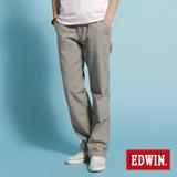 EDWIN KHAKI休閒長褲-男-灰褐色