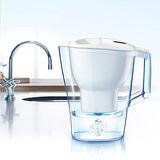 【德國BRITA】 ALUNA XL愛奴娜型濾水壺3.5公升+1入濾芯(共2入濾心)