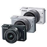 Canon EOS M10 + EF-M 15-45mm 單鏡組(公司貨).-送32GC10卡+專用鋰電池+相機包+保護鏡(49)+大吹球+拭鏡筆+拭鏡布+保護貼