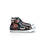 CONVERSE (男/女)帆布鞋(高統)-黑-150267C
