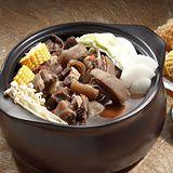 3組【岡山一新】帶皮羊肉爐(帶皮羊肉300g+湯1800g)