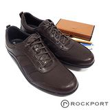 Rockport 個性質感舒適綁帶休閒鞋-咖