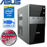 華碩H81M平台【銀河衝擊】Intel G1840雙核120G SSD高速電腦