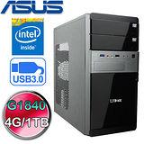 華碩H81M平台【銀河衝擊II】Intel G1840雙核 1TB大容量效能電腦