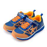 【中童】DIADORA 輕量透氣慢跑鞋 亮彩漸層系列 藍橘 2756