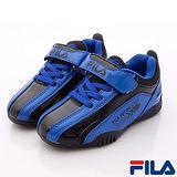 FILA頂級童鞋-經典賽車款-833P-300藍-(20cm~24cm)