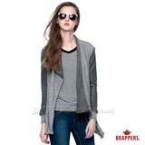 (女) BRAPPERS 女用針織騎士外套-淺灰