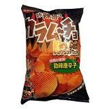 卡辣姆久厚切洋芋片 勁辣唐辛子口味82g