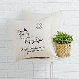 IN HOUSE-抱枕-Canvas系列-(Fox)