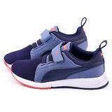 PUMA 中大童 輕量透氣運動鞋358908-15-紫