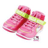 【MODAbobo】Hello Kitty 小中童段中筒螢光童鞋-桃T5A8-715138
