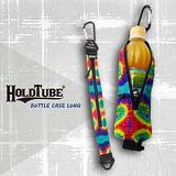【HOLDTUBE】運動腰帶-單口水瓶袋-五彩萬花筒(含扣環)
