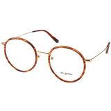 Go-Getter眼鏡 復古圓框款(琥珀-金) #GO3002 C03