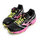 美津濃MIZUNO (女)慢跑鞋-黑-K1GL151024