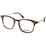 Go-Getter眼鏡 韓版百搭款(深邃琥珀-金) #GO3004 C03