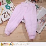 魔法Baby 嬰幼兒空氣棉護肚高腰保暖睡褲 k43991