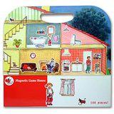 【BabyTiger虎兒寶】比利時 Egmont Toys 艾格蒙繪本風遊戲磁貼書 -快樂家庭
