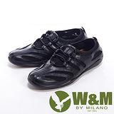 W&M (女)SOFIT系列 運動透氣彈性休閒鞋女鞋-黑