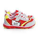 Hello Kitty 輕量透氣腳床型抗菌防臭休閒運動鞋 714885-紅