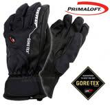 【德國 ZIENER】最新款 探險家 Gore-Tex + Primaloft 耐磨防水透氣手套(僅140g 保暖暢銷款) 黑 AR-62