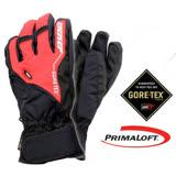【德國 ZIENER】最新款 探險家 Gore-Tex + Primaloft 耐磨防水透氣手套(僅140g 保暖暢銷款) 紅 AR-62