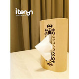 itenon洛可可古典面紙盒-方型頂雕風格