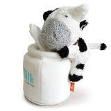 Luft Bubu牛圓桶衛生紙座-白