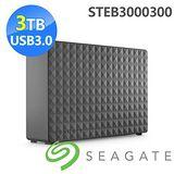 Seagate Seagate 新黑鑽 3TB USB3.0 3.5吋行動硬碟 STEB3000300