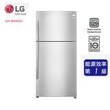 促銷★ LG 樂金 精緻銀 / 496公升 Smart 變頻上下門冰箱 ( GN-B490SV ) 含基本安裝