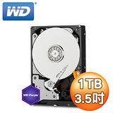 WD 威騰 Purple 1TB 3.5吋 5400轉 64M快取 SATA3紫標硬碟(WD10PURX)