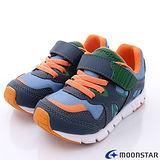 【日本Carrot兒茶素系列童鞋】清新透氣機能款(TSKC82A9藍灰-17-20cm)