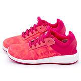Adidas 大童 輕量透氣運動跑鞋S82649-桃