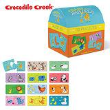 【美國Crocodile Creek】趣味配對拼圖系列-媽媽在哪裡