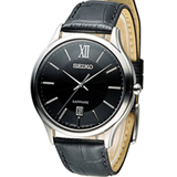 SEIKO 精工 CS紳士經典時尚腕錶 7N42-0GG0N SGEH53P2 黑皮