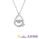 【光彩珠寶】日本舞動鑽石項鍊 純愛