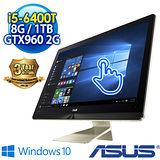ASUS華碩 Z220ICGT-640GG001X 21.5吋10點觸控 AIO PC (i5-6400T/8G/1TB/GTX960M-2G/WIN10)
