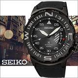 SEIKO Prospex 深海潛水機械腕錶-鐵灰/黑 4R35-00G0D(SRP579J1)