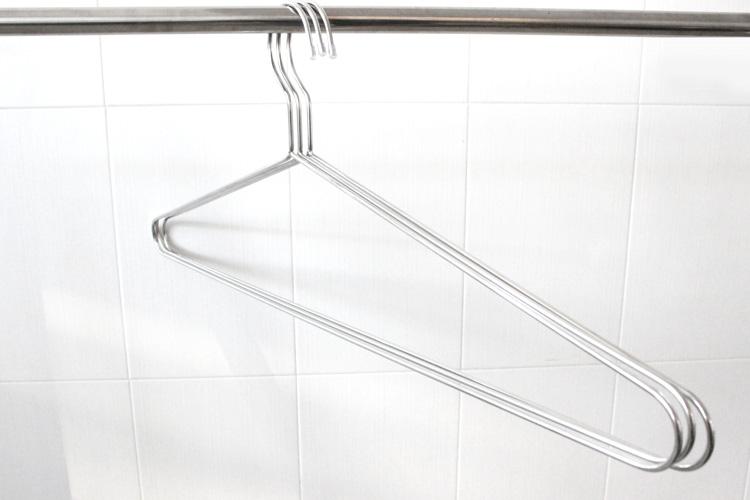 不鏽鋼無敵加長型曬衣架85CM*10(入)
