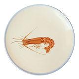 PEKOE飲食器-復古台灣盤.大盤(赤蝦)