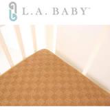 【美國 L.A. Baby】3D蜂巢立體嬰兒紙纖透氣涼蓆床墊 (S)