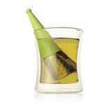 【Tea Forte】露思錐型茶葉濾器-草綠 Luci Loose Tea Infuser Green