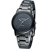 CITIZEN 星辰 光動能型男時尚腕錶 AW0024-58L