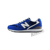 NEW BALANCE (男女)紐巴倫 TIER 2 復古鞋 休閒鞋 藍/白-MRL996KC