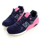 New Balance(男)經典復古鞋-深藍-MRT580UP